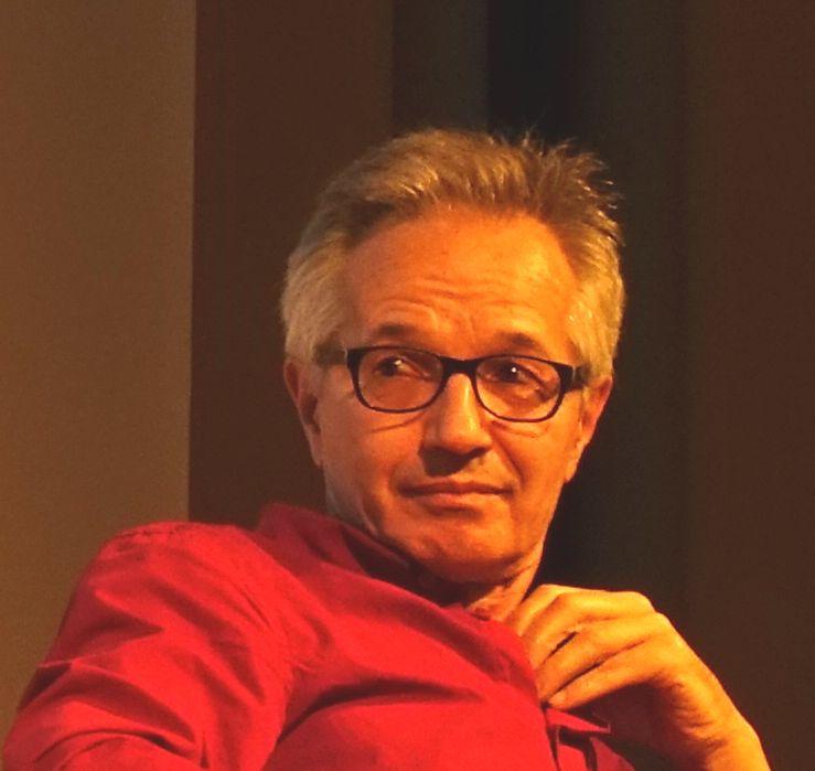 Frédéric Pagès en la Bibliothèque Mériadeck de Bordeaux el 17 octobre 2018
