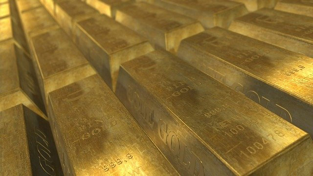 Lingotes de Oro: Aun el oro carece de valor en si mismos